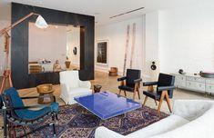 An interior from fashion designer Phillip Lim's New York City loft.