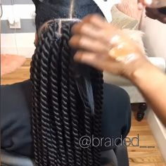 How to rope twists Definitive guide to top braided hairstyles for black women including duration and cost. How to rope twists Definitive guide to top braided hairstyles for black women including duration and cost. Braided Hairstyles For Black Women, Kids Braided Hairstyles, African Braids Hairstyles, Hairstyle Braid, Hairstyles With Braiding Hair, Black Hair Braid Hairstyles, Hairstyles For Natural Hair, Marley Twist Hairstyles, Cornrows Hair