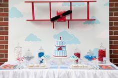 "Photo 3 of 12: Vintage Aeroplane Party / Birthday Party ""Vintage Aeroplane Party""   Catch My Party"