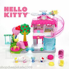 Hello Kitty ALL About Town Squinkies Playset