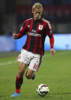 Keisuke Honda Photos Photos - AC Milan v Hellas Verona FC - Serie A - Zimbio