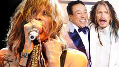 """Tagged: Aerosmith   Steven Tyler Joins Smokey Robinson For """"You've Really Got A Hold On Me"""" Duet!http://societyofrock.com/tyler-robinson-duet"""