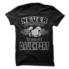 Never Underestimate The Power Of ... DAVENPORT - 99 Coo - #tshirt couple #matching hoodie. MORE INFO => https://www.sunfrog.com/LifeStyle/Never-Underestimate-The-Power-Of-DAVENPORT--99-Cool-Name-Shirt-.html?68278