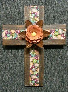 Flower Cross