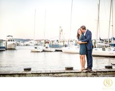 Downtown Annapolis Waterfront Engagement Photos - Engagements Gallery - Fine Art Luxury Wedding Photographer based in Washington, DC City Engagement Photos, Engagement Shoots, Anna Schmidt, Downtown Annapolis, Rustic Save The Dates, Maritime Museum, Museum Wedding, Couples In Love, Wedding Wishes