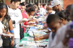 Many meals were prepared by the Micronesia community and International Students at the Micronesian / International Student Festival.