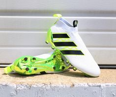 White Adidas Ace PureControl 2016 Speed of Light Boots Released - Footy Headlines Adidas Soccer Boots, Adidas Cleats, Adidas Football, Nike Soccer, Soccer Shoes, Cool Football Boots, Football Shoes, Football Cleats, Football Stuff