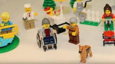 Lego Wheelchair Minifigure