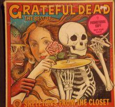 THE GRATEFUL DEAD Skeletons From The Closet Best Of PROMO GROUP ROCK VINYL ALBUM