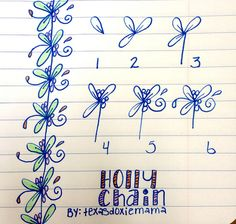 Holly chain tangle   Flickr - Photo Sharing!