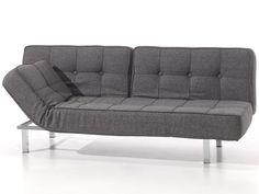 Trendy en praktisch tegelijk! Deze slaapbank van Sofa Bed, heeft een eigentijdse uitstraling, met een bijzonder goed zit én ligcomfort. Ze is uitgerust met een lattenbodem. En door het unieke mechanisme is de bank in 3 standen te verstellen: zitten, relaxen en slapen. De Clic-Clac is enkel verkrijgbaar in de afmeting 120x200 cm. Verkrijgbaar in diverse kleuren. en niet meer na te leveren. OP=OP Laagste prijsgarantie Clic Clac Lingen slaapbank bij de grootste woonboulevard van Oost-Nederl...