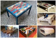 #BestOf, #CoffeeTable, #Inspiration, #PalletIdea, #RecycledPallet