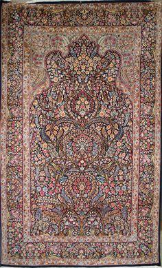 Handmade Kerman Rug (Ref: 2024) by Little-Persia