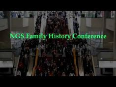 NGS 2016 Family History Conference – Exploring the Centuries: Footprints in Time