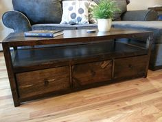 Wood Coffee Table Reclaimed