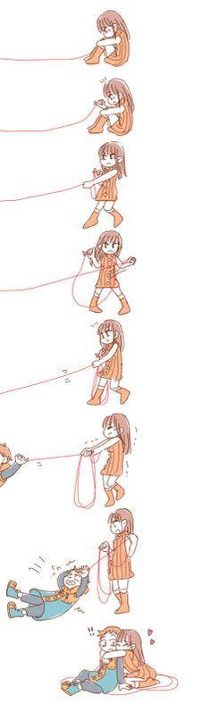 Red ribbon of fate! [Nanatsu no Taizai/Seven Deadly Sins]