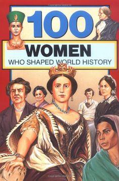 100 Women Who Shaped World History (100 Series) by Gail Rolka,http://www.amazon.com/dp/0912517069/ref=cm_sw_r_pi_dp_8SYlsb0N5EDG0H9E