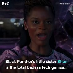 Shuri From 'Black Panther' Is the Role Model Young Scientists Have Been Waiting For Funny Marvel Memes, Marvel Jokes, Dc Memes, Marvel Dc Comics, Marvel Heroes, Marvel Avengers, Avengers Quotes, Loki Thor, Shuri Black Panther