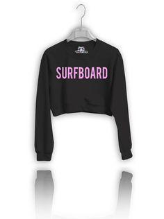 84f0c81c63 Check out OUR Version of Beyonce s  Surfboard crop top crew neck sweatshirt  Crew Neck Sweatshirt
