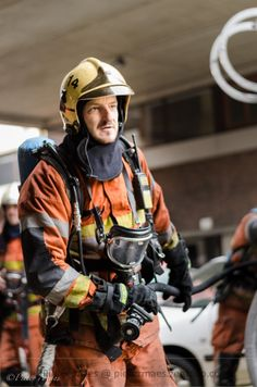 Brussels firefighter