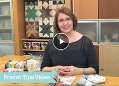 Great tips for working with precuts.