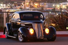 Blackie the Super Coupe- A Custom '36 Ford Hardtop Coupe