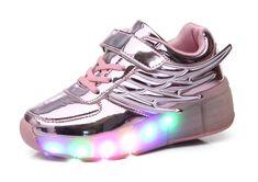 b030941f706f39 Der Spielzeugtester hat das Mr.Ang Kinder Junge Mädchen Led Schuhe Mit  Rollen Herren Skateboard