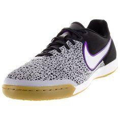 Nike Men's Magistax Pro Ic Wolf /White/Black/Frc Purple Indoor Soccer Shoe
