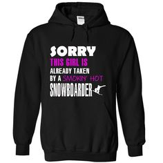 This girl is taken by a Snowboarder T-Shirts, Hoodies. Check Price Now ==► https://www.sunfrog.com/LifeStyle/This-girl-is-taken-by-a-Snowboarder-9465-Black-18534993-Hoodie.html?id=41382