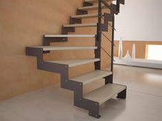Half-turn staircase construct wohndesign