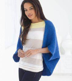 Easy Crochet Project Ideas from @joannstores   Easy Crochet Bolero