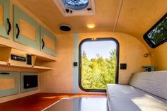 Its interior is largely full of black, white and gray colours, which evokes profession and degree of the camper owner. From contemporary beach to rust...