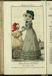 Petit Courrier des Dames : annonces des modes, des nouveautés et des arts del 5 de Octubre de 1822