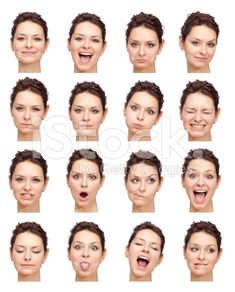 female expressions - Google Search