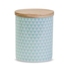 Mint Geometric Canister   Me & My Trend