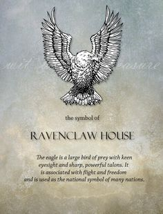 Ravenclaw Pride. Something everyone (both in the world of Hogwarts and real life) needs to recognize because of a raven symbolizing the House of Ravenclaw instead of an eagle