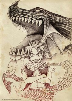 Natsu, Igneel; Fairy Tail