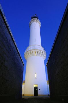 An unusual view of Girdle Ness Lighthouse by iancowe, via Flickr
