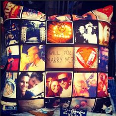 Throw Pillows Handmade From Your Instagram Photos - Stitchtagram.