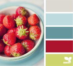 Color Palette No. 1320 - This could be a good kitchen palette. Design Seeds, Paint Schemes, Colour Schemes, Color Combos, Red Colour Palette, Color Palate, Neutral Palette, Taupe Color, Red Color