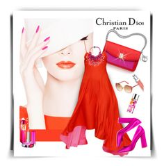 """""""Love For Dior!"""" by sherri-2locos ❤ liked on Polyvore featuring Christian Dior"""