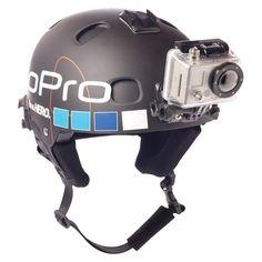 GoPro Helmet Front Adventure Camera and Camcorder Mounts - Black (AHFMT-001)