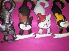 Gatos personalizados-para puxadores portas