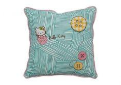 Hello Kitty pillow. 40x40cm. Organic cotton.