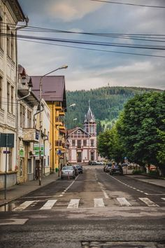 Vatra Dornei,Suceava,Romania  foto:Tatiana Natasha Big Ben, Places To Go, Street View, History, World, Amazing, Travel, Romania, Historia