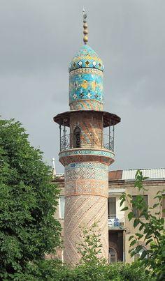 Կապույտ մզկիթ • Blue mosque • Erevan • Armenia