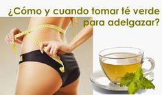 Baja de peso Ya MX: Té verde para adelgazar