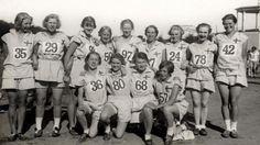 Alrededor de la Gran Guerra juegos olímpicos femeninos