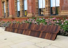 Benches by Established & Sons at the V&A
