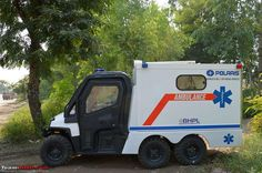 An Off-Road Ambulance from Polaris - Team-